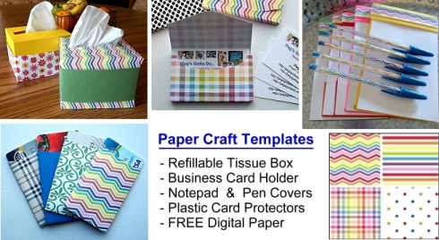 CRAFTSY paper craft templates