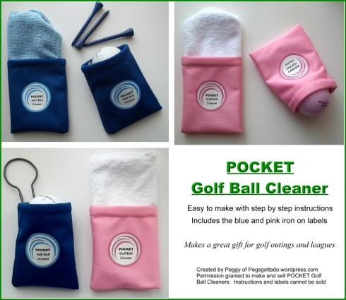 Pocket Golf Ball Cleaner Pattern