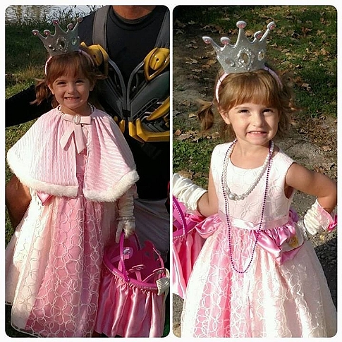 Kinzleys Pink Princess Costume