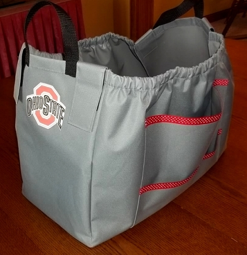 Ohio State Shopping Cart Grocery Bag