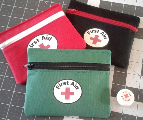 bags and first aid ointment